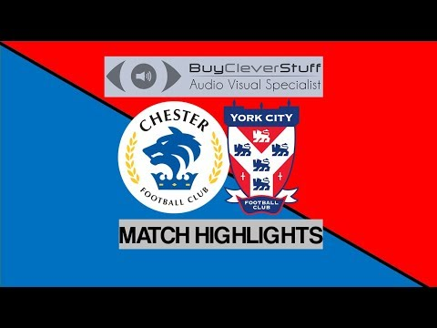 MATCH HIGHLIGHTS: Chester 2-2 York City