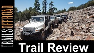 Off-Road Trail Review of 3N69 Gold Mountain in Big Bear California in 4k UHD
