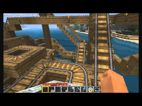 Minecraft Rollercoaster Version II