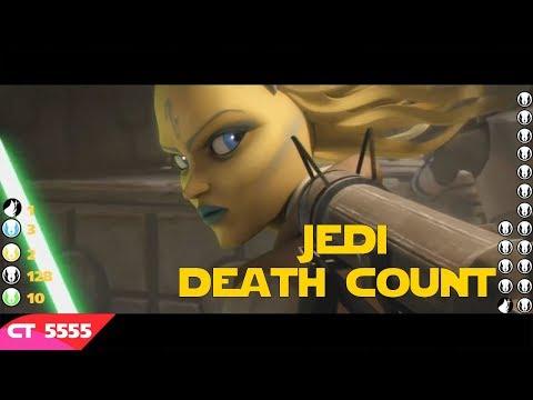 Star Wars Saga Jedi Death Count