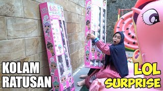 Video NUMPAHIN LOL SURPRISE TERBARU KE KOLAM RENANG😱 Amazing!! (part 1) MP3, 3GP, MP4, WEBM, AVI, FLV Juni 2019