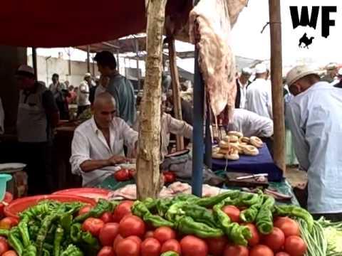 Kashgar, China - Live market