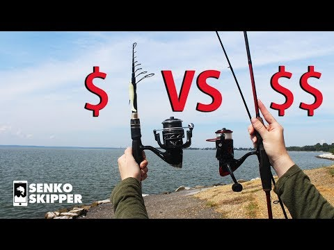Save your Money! Telescopic Fishing Rod VS Two-piece Fishing Rod
