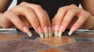 ASMR: Tapping And Scratching With Long Natural Nails