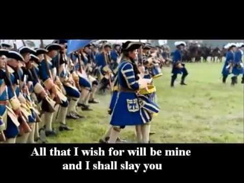 Sabaton - Carolus Rex (SWE version) lyrics