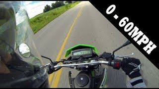 5. Kawasaki KLX250S - 0-60MPH/Top Speed