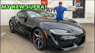 TAKING DELIVERY OF MY 2020 TOYOTA SUPRA! by Vehicle Virgins