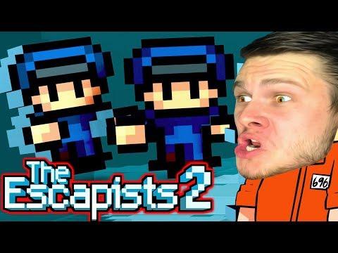 НАПИНАЛИ ОХРАНЕ и СБЕЖАЛИ! - ПОБЕГ Вдвоем -  The Escapists 2
