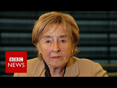 The Holocaust: 'My father was gassed in Auschwitz' - BBC News