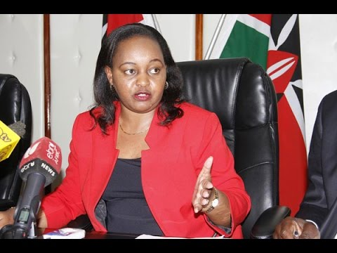 Anne Waiguru boycotts Jubilee gubernatorial nominations in Kirinyaga