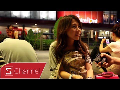 Phỏng vấn người xếp hàng chờ mua iPhone 6/6 Plus tại Apple Store Singapore