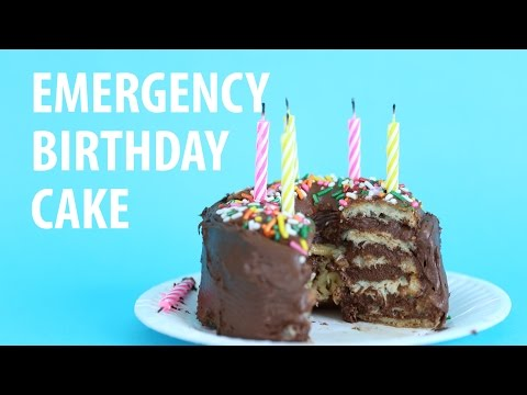 How To Make A Last Minute 6-Layer Cake With Two Donuts [WATCH]