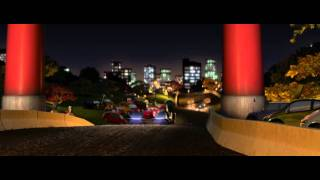 Cars 2: Japan Fast Dirt Section - Clip