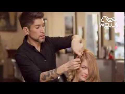 wellausa - Watch as Wella Artist Dean Roybal demonstrates his perfect client consultation by asking the right questions, recommending helpful Wella products, and teachi...