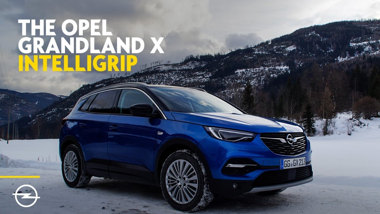 The Opel Grandland X | Easy Traction with IntelliGrip