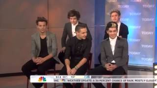 One Direction on The Today Show (part 4 of 4)