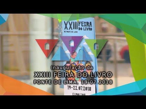 Inauguração da XXIII Feira do Livro de Ponte de Lima