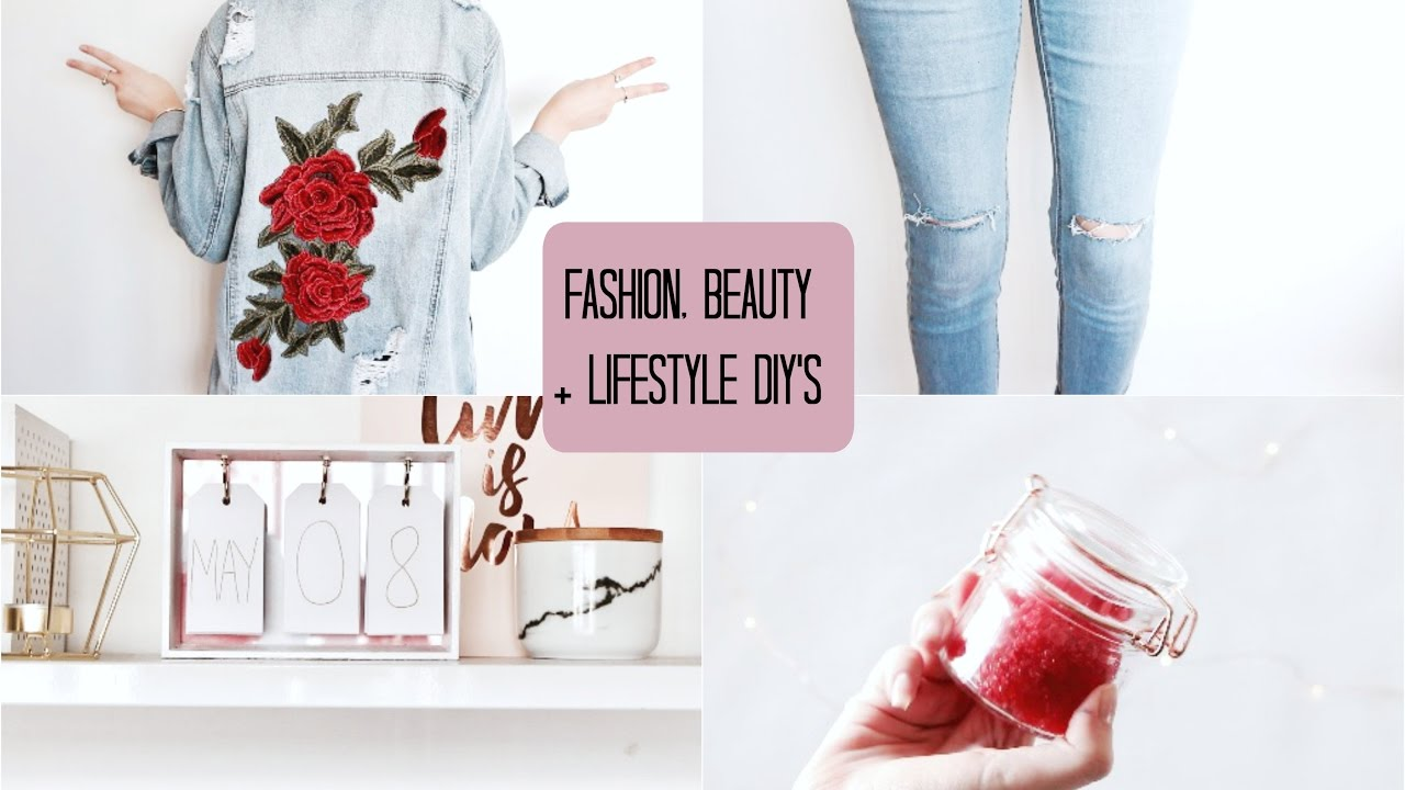 Easy Fashion, Beauty and Lifestyle DIY's You NEED to try!