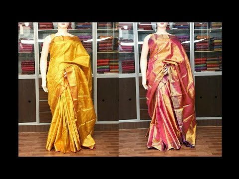 Video Bridal Kanchipuram Sarees below Rs.15,000 | Million Designs | SPS,BKPL download in MP3, 3GP, MP4, WEBM, AVI, FLV January 2017