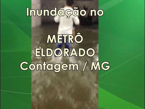 Ilhados no METRÔ, Inundação da Estação Eldorado em Contagem/MG, Temporal RMBH, Parte 2