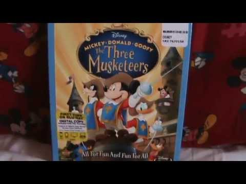 Micky, Donald, Goofy: The Three Musketeers Blu-Ray Unboxing