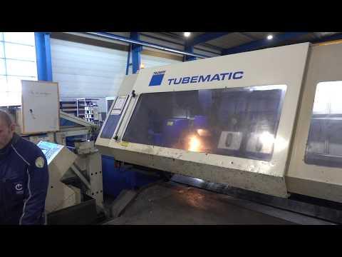 Machine de découpe laser 3D TRUMPF TUBEMATIC 2001