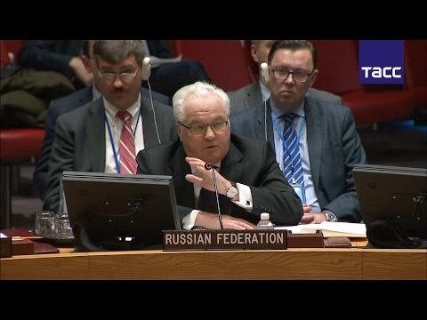 Чуркин ответил представителям США и Великобритании в ООН