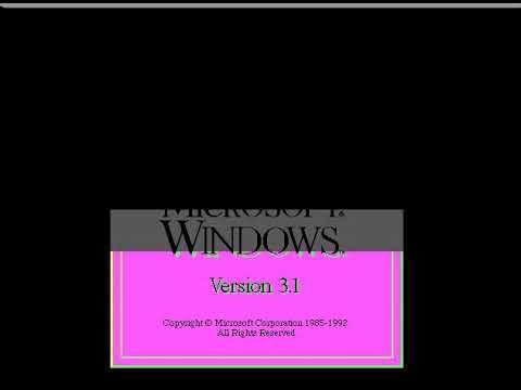 Выживание под Windows 3.1 в 2017 году + ВЫЗОВ ЭКРАНА СМЕРТИ
