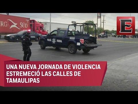 Ataque a policías en Reynosa deja cinco personas muertas
