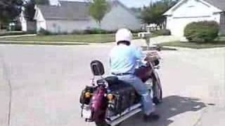 10. 2006 Honda Shadow Aero Test Drive