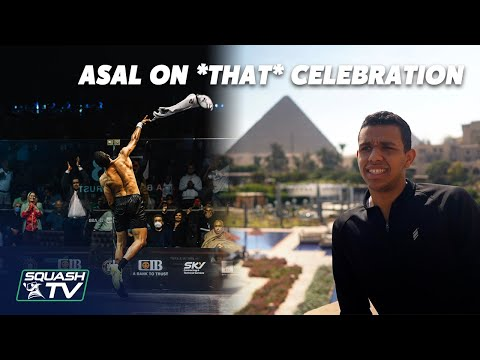 Squash: Mostafa Asal On *THAT* Celebration