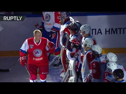 Putin hits ice for Night Hockey League festival in Sochi
