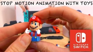 We talk through how we make our Stop Animations with Lego, PJ Masks and the Nintendo Switch.All the equipment you use and create a few frames of the Stop Animation on camera.