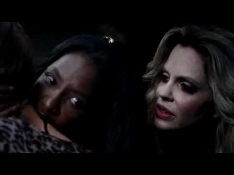True Blood: Pam Makes Tarra to Bite and Drink from Human. Season 5 Episode 4