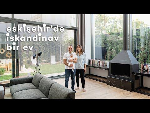 Eskişehir'de İskandinav Bir Ev