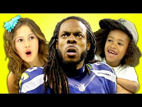 Kids React To Richard Sherman Rant (Super Bowl)