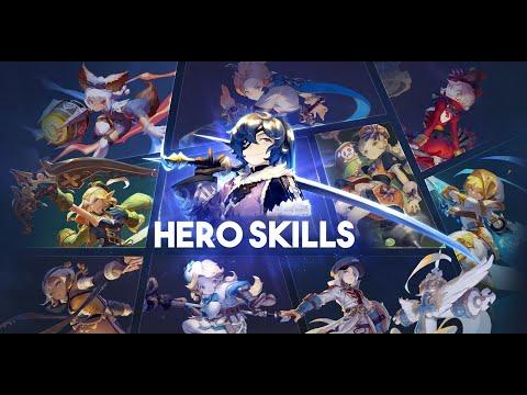 Dragon Nest - Hero Skills [All Class]