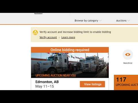 How to Bid Online at a Ritchie Bros Auction | Online Equipment Auction