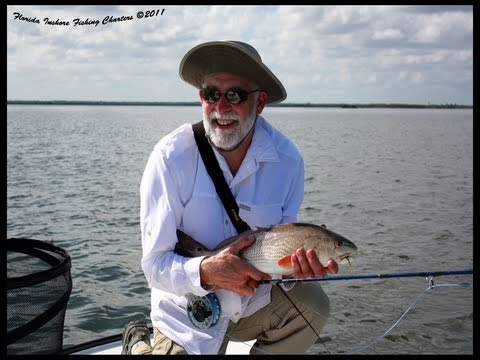Orlando Saltwater Fly Fishing Guide Red Drum Seatrout
