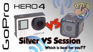 Video GoPro Hero 4 Silver VS Session : Which is better? - With Sample Footage! MP3, 3GP, MP4, WEBM, AVI, FLV Juli 2018