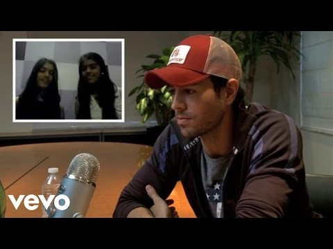 Enrique Iglesias - ASK:REPLY (Namrata & Nisha)