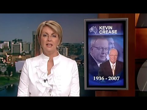 2007 Seven News reports the death of Kevin Crease