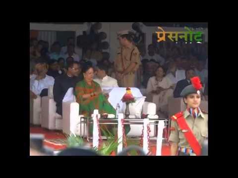 I Day celebertion in Udaipur.