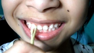 How to have super healthy white teeth