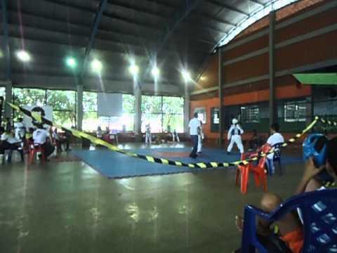 6°  RONDÔNIA TAEKWONDO OPEN -- RTO lutas  atletas de guajara mirim 6
