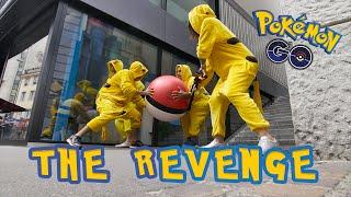 The revenge: Wat als de pokémons op ons gaan jagen?
