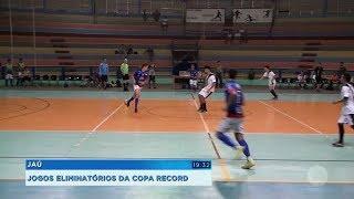 Bocaina e Jaú estão na semifinal da série Prata da Copa Record de Futsal