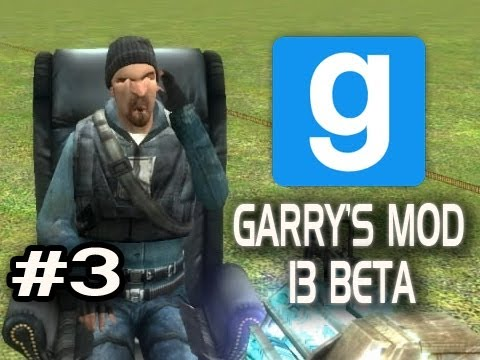 Garry's Mod 13 Beta w/Nova &amp; Sp00n Ep.3 - CHAIR AND TRUCK LAUNCHING Video