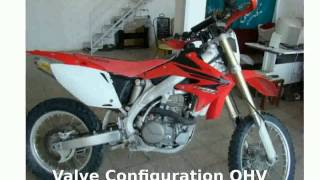 4. 2008 Honda CRF 450X - Info and Features