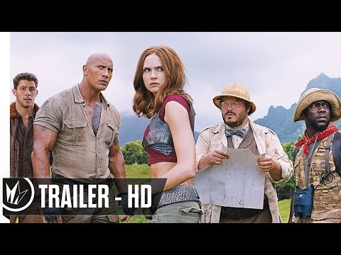 Jumanji: Welcome To The Jungle Official Trailer #2 (2017) Dwayne Johnson -- Regal Cinemas [HD]